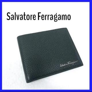 Salvatore Ferragamo - 【極美品】Ferragamo フェラガモ レザー 折財布 札入れ