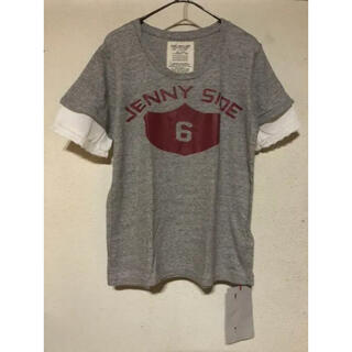 ゴートゥーハリウッド(GO TO HOLLYWOOD)の新品 GTH 袖レースレイヤードTee 160 O(Tシャツ/カットソー)