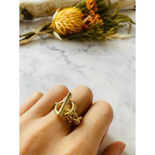 アリシアスタン(ALEXIA STAM)の◇ニュアンス チェーン 鎖 リング 色:ゴールド◇(リング(指輪))