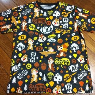 チップアンドデール(チップ&デール)のチップとデール 総柄 Tシャツ(Tシャツ/カットソー(半袖/袖なし))