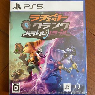 プレイステーション(PlayStation)のラチェット&クランク パラレル・トラブル PS5 未使用(家庭用ゲームソフト)