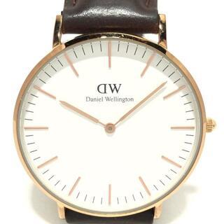 ダニエルウェリントン(Daniel Wellington)のダニエルウェリントン 腕時計 - B36R14 白(その他)