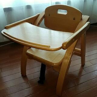 ヤマトヤ(大和屋)のyamatoya製 アーチ木製ローチェア(その他)