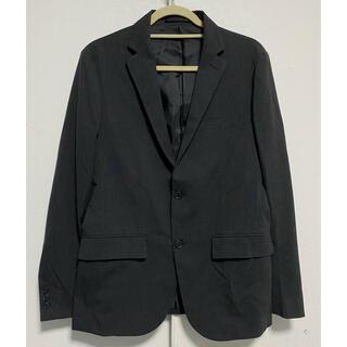 グローバルワーク(GLOBAL WORK)のスーツ ジャケット テーラード ミドル丈 総裏地 シングル M チャコールグレー(テーラードジャケット)