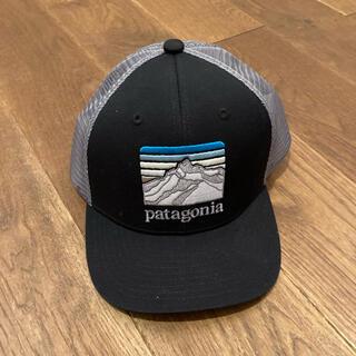 パタゴニア(patagonia)の新品 限定 パタゴニア トラッカーハット キャップ 帽子 ブラック メッシュ(帽子)