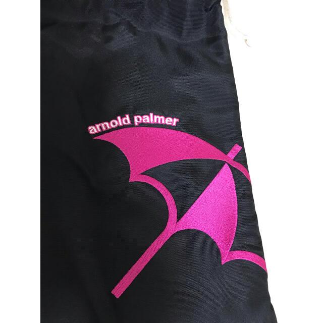 Arnold Palmer(アーノルドパーマー)のアーノルドパーマー シューズケース 巾着袋 スポーツ/アウトドアのゴルフ(シューズ)の商品写真