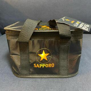 サッポロ(サッポロ)の新品未使用 サッポロ生ビール黒ラベル 保冷バック(ノベルティグッズ)