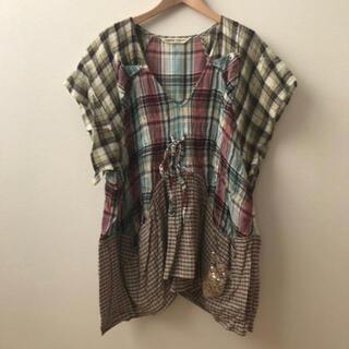 ツモリチサト(TSUMORI CHISATO)のツモリチサト ねこモチーフ(Tシャツ(半袖/袖なし))