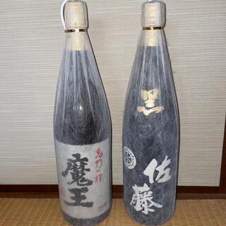 本格焼酎「魔王」「佐藤 黒」一升瓶 2本セット(焼酎)
