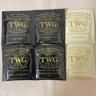 TWG ティーバック 6点セット(茶)