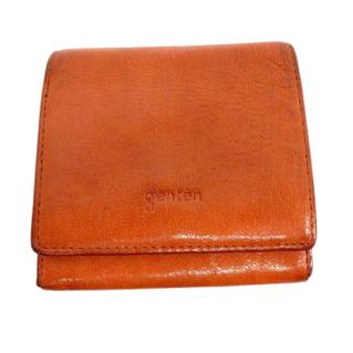ゲンテン(genten)のゲンテン 小銭入れ付き 二つ折りショートウォレット(折り財布)