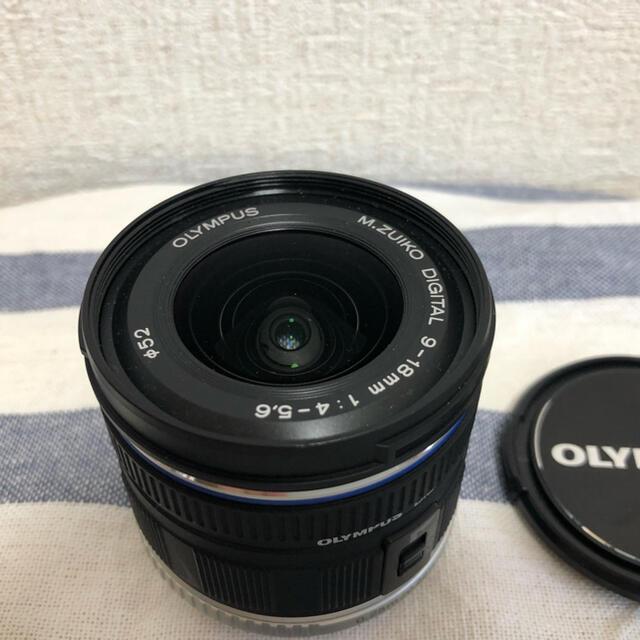 OLYMPUS(オリンパス)のオリンパス M.ZUIKO DIGITAL ED 9-18 4.0-5.6 スマホ/家電/カメラのカメラ(レンズ(ズーム))の商品写真