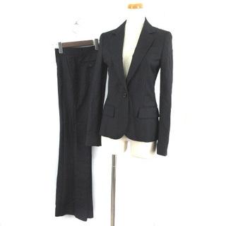 プラステ(PLST)のプラステ パンツスーツ セットアップ ストライプ シルク混 1B 総裏 0 2(スーツ)