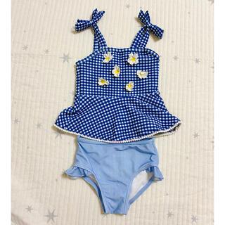 プティマイン(petit main)のプティマイン チェックの水着 セットアップ(水着)