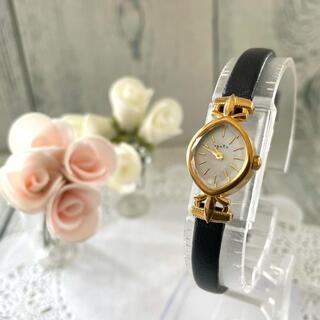 アガット(agete)の【動作OK】agete アガット 腕時計 シェル 文字盤 ゴールド(腕時計)
