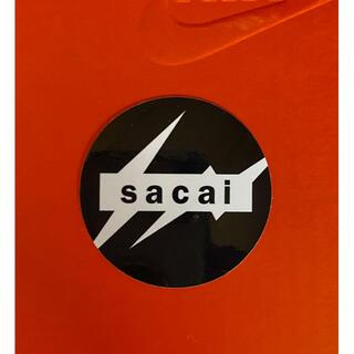 サカイ(sacai)のsacai x Nike x fragmentコラボ 非売品ノベルティステッカー(ノベルティグッズ)