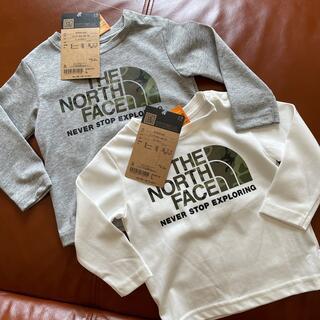 ザノースフェイス(THE NORTH FACE)の新品THE NORTH FACEベビーTeeセット(Tシャツ)