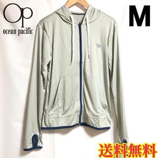 OCEAN PACIFIC - 【新品】オーシャンパシフィック メンズ ラッシュガード パーカー グレー M