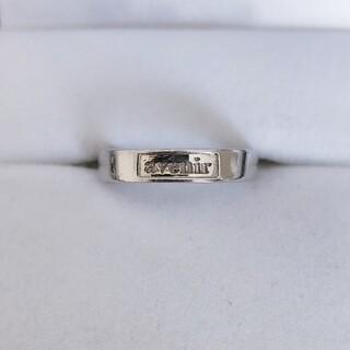 ヴァンドームアオヤマ(Vendome Aoyama)のヴァンドーム青山 アヴニール リング Pt900 3.5mm 3.7g(リング(指輪))