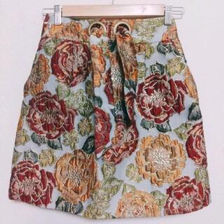 リリーブラウン(Lily Brown)のリリーブラウン 台形スカート(ひざ丈スカート)