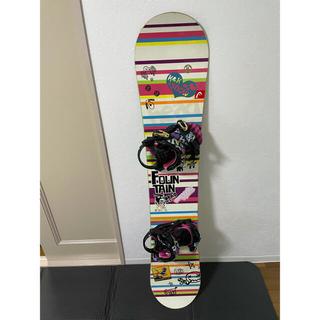ヘッド(HEAD)のhead スノーボード 板 147cm 板+ビンディング+カバーセット(ボード)