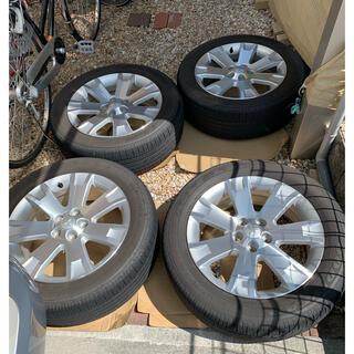 三菱 - 【値下げ:送料込み】デリカD5 タイヤ4本 セット 純正ホイル