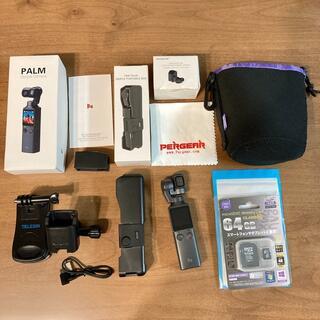 美品★FIMI PALM 4Kジンバルカメラ SDカード付(ビデオカメラ)