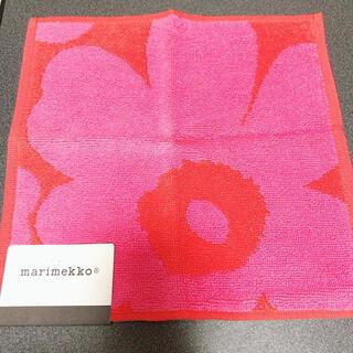 マリメッコ(marimekko)の新品マリメッコ タオル(ハンカチ)
