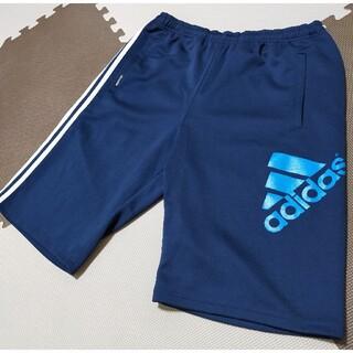 adidas - ☆AHP-318 アディダス ハーフパンツ 紺 青ロゴ サイズ O