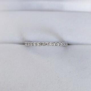 ヨンドシー(4℃)のcanal 4℃ ダイヤモンド エタニティ リング Pt900 2.2g(リング(指輪))