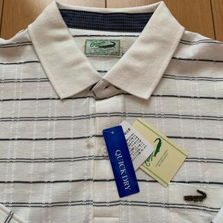 クロコダイル(Crocodile)のクロコダイル メンズ長袖ポロシャツ タグ付き(ポロシャツ)