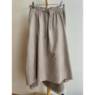 ディスコート(Discoat)のベロア風素材 ロングスカート  discoat(ロングスカート)
