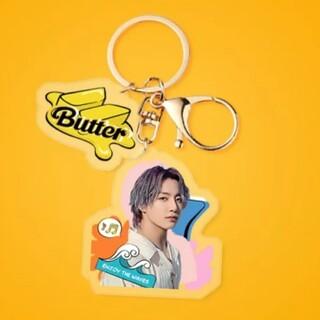 ボウダンショウネンダン(防弾少年団(BTS))のBTS Butter【JK】アクリル キーホルダー(キーホルダー)
