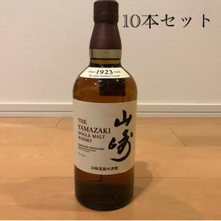 サントリー(サントリー)の山崎ノンビンテージ ウイスキー 新品未開封 700ml 10本 (ウイスキー)