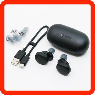 ソニー(SONY)の新古品■SONY WF-XB700 ブラック 完全ワイヤレスイヤホン重低音モデル(ヘッドフォン/イヤフォン)
