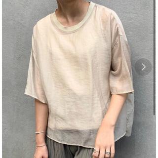 チャオパニックティピー(CIAOPANIC TYPY)の【新品未使用】CIAOPANIC TYPY シアーボイルTeeブラウス(Tシャツ(半袖/袖なし))