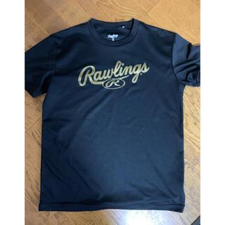 ローリングス(Rawlings)のローリングスTシャツMサイズブラック(ウェア)