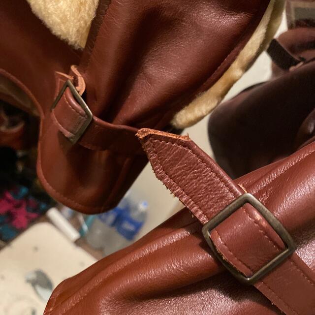 東洋エンタープライズ(トウヨウエンタープライズ)のスタイルアイズ 熊ジャン グリズリージャケット メンズのジャケット/アウター(レザージャケット)の商品写真