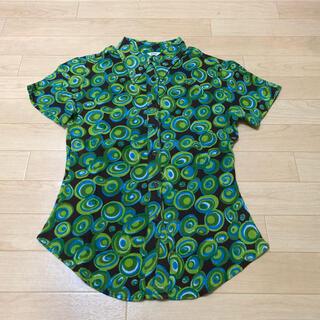 マンゴ(MANGO)のMANGO  可愛いカラフルシャツ(シャツ/ブラウス(半袖/袖なし))