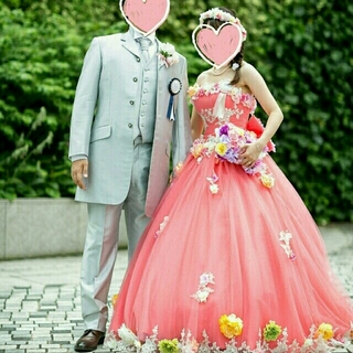 11/18までお取り置き♥にこ様専用♥タキシード♥シルバー♥大きめ♥結婚式(ウェディングドレス)