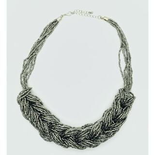 エイチアンドエム(H&M)のH&M ガラスピース ボリュームチョーカー(ネックレス)