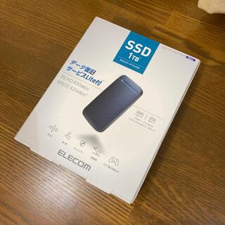 ELECOM - ELECOM ポータブルSSD 1TB ESD-EF1000GNVR 新品保証有