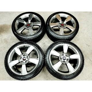 スバル(スバル)のスバル WRX STI 純正 ホイールタイヤ  245/40R18 スタッドレス(タイヤ・ホイールセット)