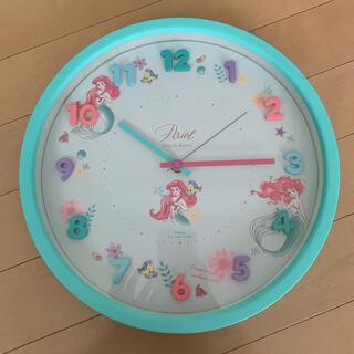 Disney - アリエル 壁時計
