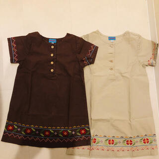 KENZO - KENZO 子供服 ワンピース 100と110  2枚組