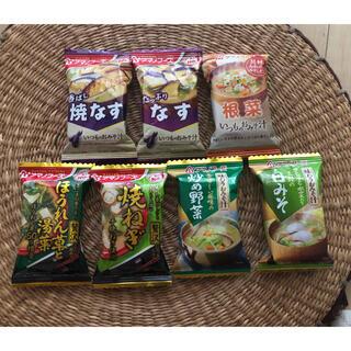 アマノフーズ おみそ汁7食  (レトルト食品)
