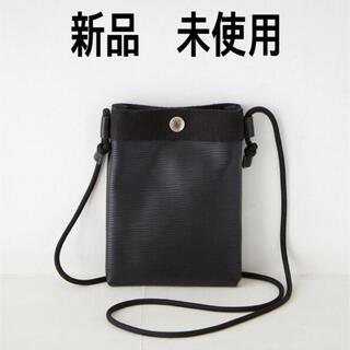 トプカピ(TOPKAPI)のTOPKAPI / トプカピ リプル ネオレザー ブラック(ショルダーバッグ)