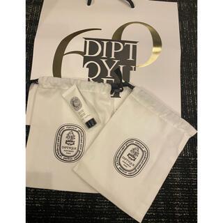 ディプティック(diptyque)のディプティック 巾着二つ 限定ショップ袋&クリーム新品(ボディクリーム)