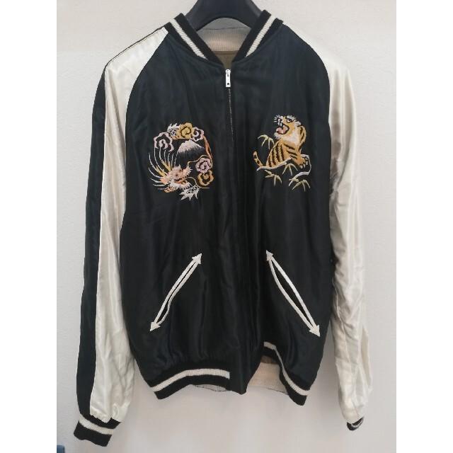 東洋エンタープライズ(トウヨウエンタープライズ)のGOLD / ゴールドACETATE SUKAアセテートスカジャンGL13763 メンズのジャケット/アウター(スカジャン)の商品写真