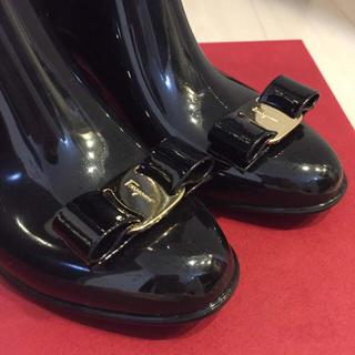サルヴァトーレフェラガモ(Salvatore Ferragamo)の未使用♡正規品♡フェラガモ レインブーツ(レインブーツ/長靴)